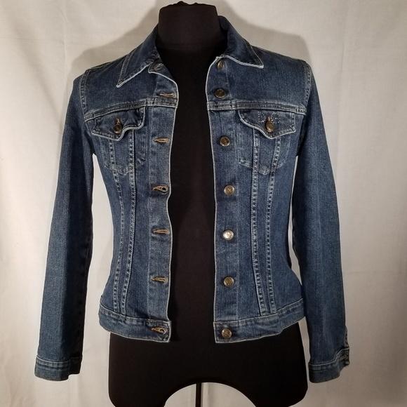 0fd54adcf7 Dolce & Gabbana Jackets & Blazers - Dolce & Gabbana jean jacket womens 44  (sz